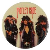 Motley Crue - 'Group' Button Badge